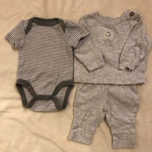 Carter's nb outfit